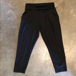 Zella high waisted rollover cropped jogger
